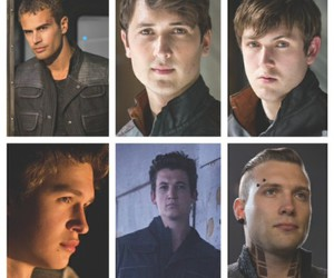 divergent, book, and boy image