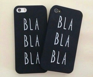 bla, case, and iphone image