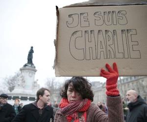 france, je suis charlie, and paris image