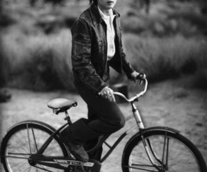 johnny depp, johnny, and bike image