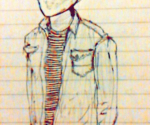 boy, jacket, and jeans image