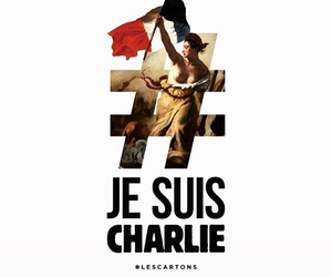 freedom, france, and je suis charlie image