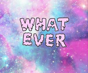 whatever, galaxy, and pink image