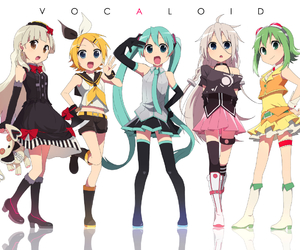 vocaloid, mayu, and gumi image