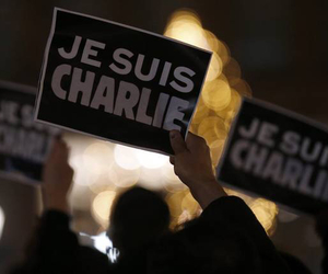 tragic, je suis charlie, and no words needed image