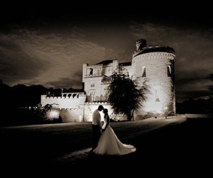 castle, couple, and rommance image