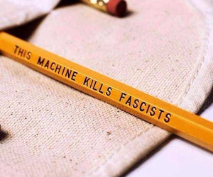 fascists, pencil, and je suis charlie image