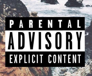 parental advisory, wallpaper, and parental image