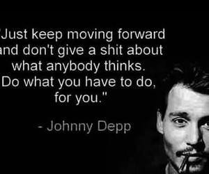 johnny depp, quote, and true image