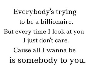 billionaire, don't care, and every time image
