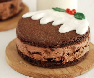 chocolate, christmas, and cake image