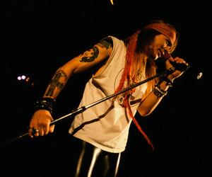 Guns N Roses and axl rose image