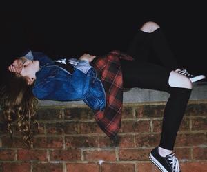 grunge, girl, and sad image