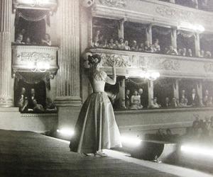 maria callas and theatre image