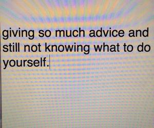 advice, alone, and grunge image