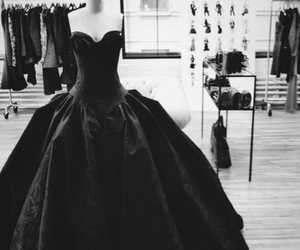 dress, great, and black image