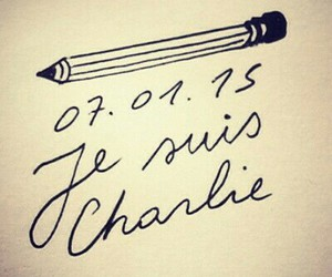 paris, jesuischarlie, and charlie image