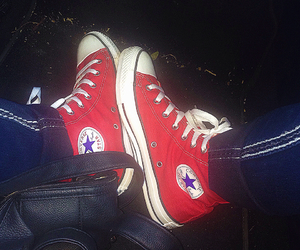 all star, car, and converse image