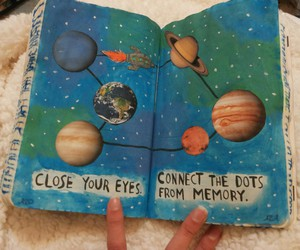 connect, universe, and wreck this journal image