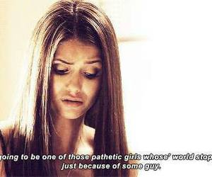 quote, Nina Dobrev, and the vampire diaries image