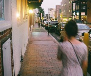 girl and street image