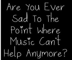 sad and music image