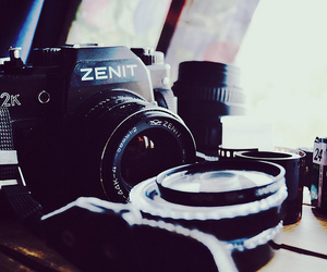 camera, lens, and zenit image