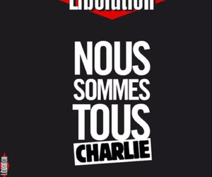 france, noussommestouscharlie, and liberation image