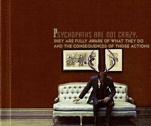 hannibal, hannibal lecter, and psychopaths image