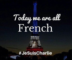 je suis charlie, france, and french image