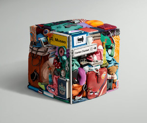 cube and design image