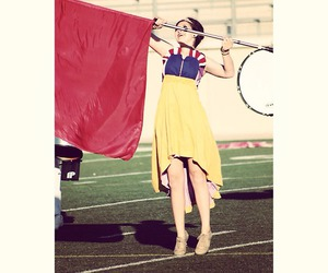 beauty, dance, and flag image