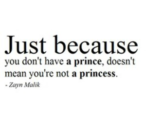 princess, zayn malik, and quote image