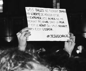france, freedom, and jesuischarlie image