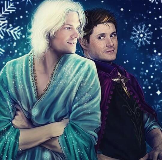 supernatural, frozen, and dean image