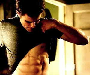 boy, sexy, and stefan salvatore image