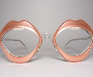 mouth and glasses image