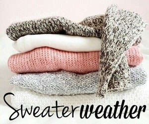 song, sweater, and sweater weather image