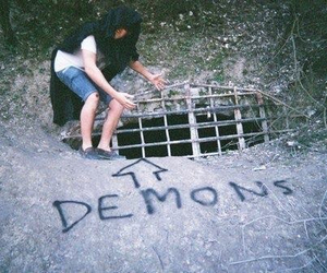 demon, grunge, and boy image