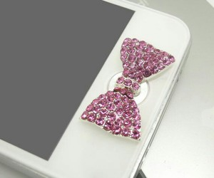 bow, iphone, and cute image