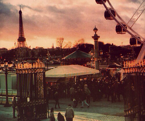 paris, vintage, and city image