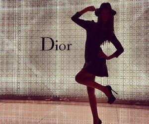dior, girl, and fashion image