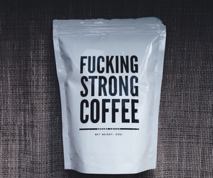 coffee, strong, and drink image