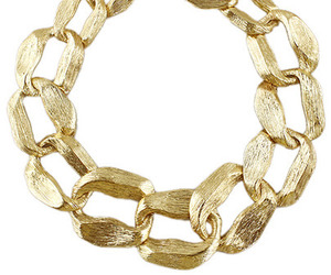 chunky and gold neckless image