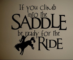 cowboy and horse quotes image