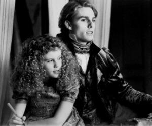 vampire, lestat, and black and white image