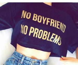 boyfriend, t-shirt, and black image