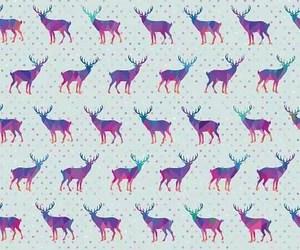wallpaper, background, and deer image