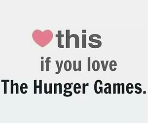 love, heart, and the hunger games image