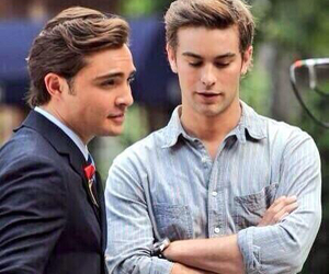 boy, chuck bass, and nate archibald image